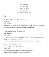 Resume Template Construction Worker Pleasant Examples 9 Free Samples Format