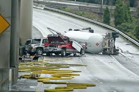 100 Taco Truck Seattle Propane Truck Rollover Closes Major Highways In The