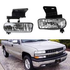 chevy silverado 1500 2500 suburban clear oem style fog lights