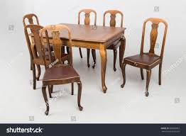 Antique Dining Room Sets Tables Chairs Stock Photo (Edit Now ...