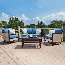 Outdoor Furniture Cushions Sunbrella Fabric by Exterior Wicker Outdoor Furniture With Lazy Boy Outdoor Furniture