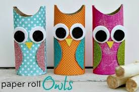 DIY Owl Paper Craft