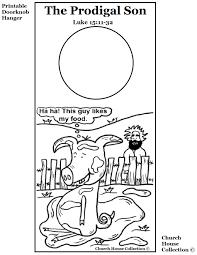 The Prodigal Son Printable Doorknob Hanger 1020x1320 Pixels