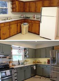 Cabinet Refinishing Kit Before And After by Best 25 Update Kitchen Cabinets Ideas On Pinterest Painting