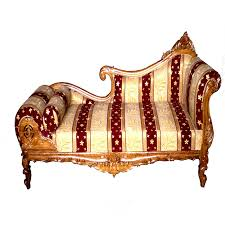 Maharaja Wooden Sofa Fine Hand Carved Design With Pillow Royal Furniture