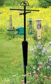 Bird Feeder Pole for Yards Decks and More