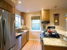 Open Galley Kitchen Sophisticated Best Kitchens Ideas