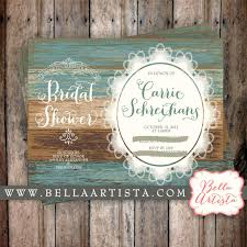 Rustic Chic Bridal Shower Invitations To Create Your Own Appealing Invitation 7