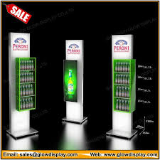 Carlsberg Beer Bottle POS Retail Display Floor Stand