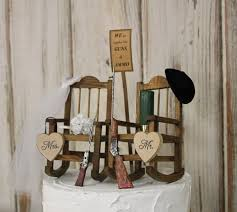 Hunting Wedding Cake Topper, Bride And Groom Wedding Chairs, Personalized  Cake Topper, Country-Barn-Wooden-Rustic His And Hers Cake Topper Part One Christmas In Heaven Poem With Chair Mainstays White Solid Wood Slat Outdoor Rocking Chair Better Homes Gardens Ridgely Back Mahogany Grandpas Brightened Up For New Baby Nursery Custom Made Antique Oak By Jp Designbuild Naomi Home Elaina 2seater Rocker Cream Microfiber John Lewis Partners Hendricks Light Frame Stanton French Grey Animated Horse Girl Rosie Posie Wooden Chiavari Chairs Silver 800