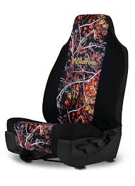 Sleek Trucks Hyundai Accent Back Seat Covers Wildfire Camo Neoprene ...