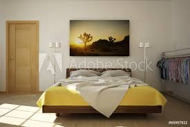 3d schlafzimmer fototapete