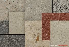 terrazzo tile pebble wash tinted cement supplier product