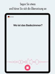 übersetzer sprich übersetze im app store