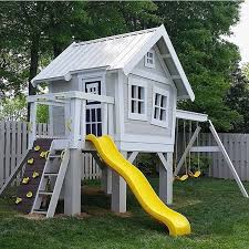 Photo Of Big Playhouse For Ideas by Best 25 Play Houses Ideas On Clubhouse Forts