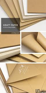 Kraft Paper For Invitations Craft Order In A Variety Of Weights Invitation PaperRustic Wedding