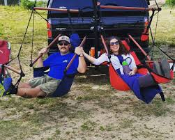 Trailer Hitch Hammock Chair By Hammaka by This Mobile Truck Swing Is Perfect For Summer Relaxation Trailer