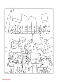 Minecraft Coloring Pages New Sword And Free Printable