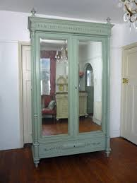 Antique French Inspired Mirrored Armoire | Painted Henri II Style ... Inspired By Antique English Country Fniture The Manor House Decor Fill Your Home With Modern Armoire For Wonderful Armoires Uniquechic Fniture Limited Up To Date Large Wardrobe Double Door Compartment 1 Displaying Gallery Of French White Wardrobes View 10 15 Photos Uptown Scott Jordan Mirrors Beautiful Traditional 3 Storage Spaces 2 Doors Design Belham Living Harper Espresso Jewelry Hayneedle Wardrobe Hand Carved Antique Blue Omero