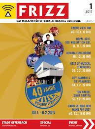 frizz das magazin offenbach januar 2017 by frizz offenbach