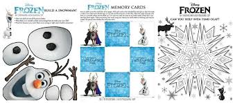 To Celebrate The Release Of Disneys New Movie FROZEN Parents Can Download And Print Out Several Fun Activity Sheets Which Include Mazes