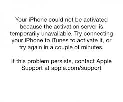 iOS 7 Activation Required Error Intertech Blog