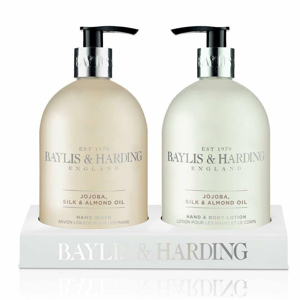 Baylis & Harding Jojoba Oil Set - Silk and Almond, 2 Bottle