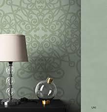 newroom barocktapete tapete grün ornament barock vliestapete pearl vlies moderne design optik barocktapete wohnzimmer inkl tapezier ratgeber