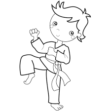 Boggs Blog Karate Kids Embroidery Designs Coloring Pages