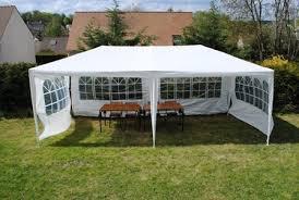 location tonnelle de réception barnum 6 x 3 m blanche 18m2
