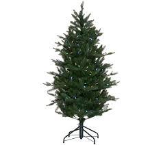 75 Douglas Fir Artificial Christmas Tree by Santa U0027s Best 5 U0027 Rgb 2 0 Green Balsam Fir Christmas Tree Page 1