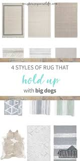 Best Type Of Flooring For Dogs by Best Kind Of Area Rug For Dogs Creative Rugs Decoration