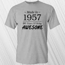 Smashing Pumpkins Zero Shirt by Made In 1957 60 Years Of Being Awesome T Shirt 60th Birthday