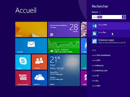 bureau windows windows 8 1 lancer une application de bureau médiaforma
