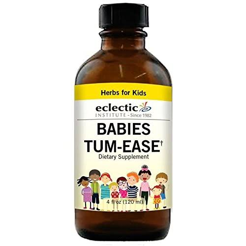 Eclectic Babies Tum Ease Kid - Yellow, 4oz