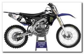 Factory Effex Monster Energy Bike Graphics Kits For Yamaha
