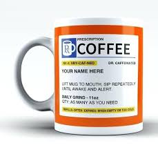 Coffie Cup Personalized Prescription Coffee Mug Starbucks Clipart Drawing Cute