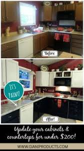 Nuvo Cabinet Paint Video by Before And After Using Giani Granite Countertop Paint And Nuvo