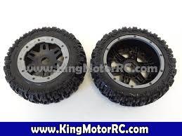 100 Rc Truck Wheels King Motor RC Pioneer Front Set Of 2