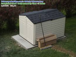 Rubbermaid Slide Lid Shed Instructions by Telescope U0026 Sky U0027s Official Observatory Airplanes And Rockets