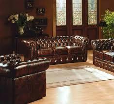 chesterfield canapé canape chesterfield cuir occasion image photo de décoration
