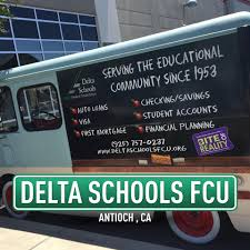 Delta Schools Federal Credit Union - Antioch, California - Bank ... Repo List Texas Plains Federal Credit Union Monmouth Maine Rtp Membership Member Rources Auto Center Essential Fcu Baton Rouge 17th Annual Navarre Car Truck Bike Show And Craft Fair Home Loans Security First Westex A Better Way To Bank Repos Foclosures Barksdale Vehicle Refinance Blue Merced School Employees Bold Modern Poster Design For Columbiagreene