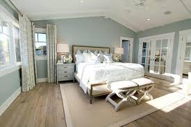 Grey Hardwood Floors Bedroom Modern Concept Light Wood Floor Steely Blue Walls Wide