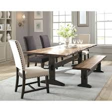 100 6 Oak Dining Table With Chairs Rustic Set Rustic Set Bench Rustic