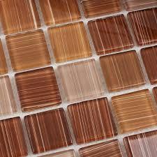 Glass Backsplash Tile Cheap by Crystal Glass Mosaic Tile Sheet Wall Stickers Kitchen Backsplash
