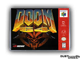Doom 64 N64 Nintendo 64 Game Case Box Cover Brand New Professional ...