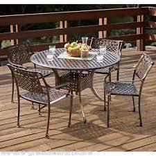 Cast Aluminum Patio Sets by Aluminum Patio Dining Set Ebay