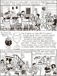 Bed Vyne Wine by Bed Vyne Brews Bill Roundy U0027s Cartoon Review U2022 Brooklyn Paper