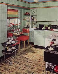 Stuff Gallery Of 1930s Kitchens Featured On Antique Home Style 30s Decor