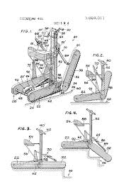 Ferno Stair Chair Model 48 patent us3869011 stair climbing tracked vehicle google patents